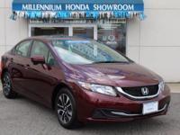 This Honda Certified Civic Sedan EX is Priced Below The