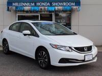 This Honda Certified Civic Sedan EX  is Priced Below