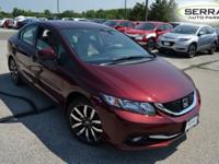 HONDA CERTIFIED WARRANTY, MOON ROOF, LEATHER, HEATED