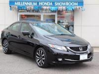 This Honda Certified Civic Sedan 4dr CVT EX-L  is a New