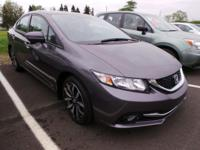 Come see this 2014 Honda Civic Sedan EX-L. Its Variable