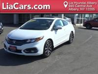 2014 Honda Civic EX-L and Hands Free Bluetooth. ABS
