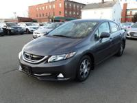 Clean CARFAX. Modern Steel Metallic 2014 Honda Civic