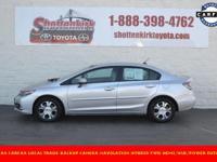 Options:  2014 Honda Civic Hybrid|Aluminum/Alloy