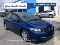 Dyno Blue Pearl. Join us at Gary Smith Honda! Your