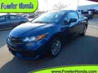 Civic LX, 2D Coupe, and Still Night Prl. Hurry in!