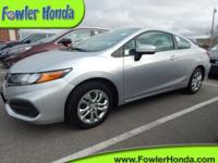 New Price! Recent Arrival!  2014 Honda Civic LX 2D