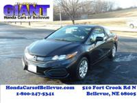This 2014 Honda Civic Coupe Coupe LX is offered to you