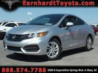 We are happy to offer you this 1-OWNER 2014 HONDA CIVIC