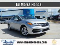 This 2014 Honda Civic Coupe LX is proudly offered by Ed