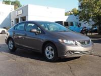 2014 Honda Civic LX New Price! CARFAX One-Owner. Clean