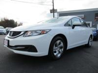 Step into the 2014 Honda Civic! A comfortable ride in a