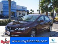 Options:  2014 Honda Civic Lx|This Vehicle Has A 1.8L