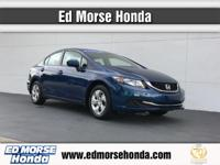 This outstanding example of a 2014 Honda Civic Sedan LX