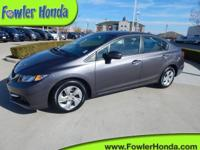 Honda Certified, One Owner Clean Carfax, Remote Keyless