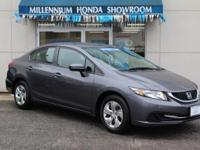 This Honda Certified Civic Sedan LX  has been selected