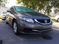 CARFAX One-Owner. Clean CARFAX. 2014 Honda Civic LX FWD