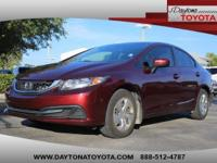 2014 Honda Civic LX Sedan, *** 1 FLORIDA OWNER ***