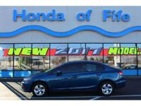 New Arrival! CARFAX 1-Owner! This 2014 Honda Civic