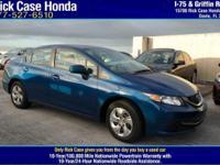 Options:  2014 Honda Civic Sedan Lx|/|V4 1.8 L