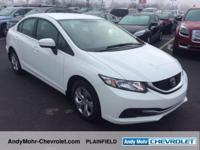 Honda Civic  Clean CARFAX. CARFAX One-Owner. Odometer