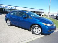 CARFAX 1-Owner, LOW MILES - 32,816! EPA 39 MPG Hwy/30