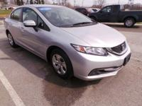 Look at this 2014 Honda Civic Sedan LX. Its Variable