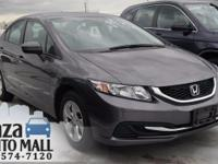 Recent Arrival! Certified. 2014 Honda Civic LX Modern