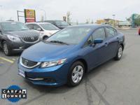 Options:  2014 Honda Civic Lx|Miles: 46261Color: Dyno