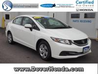 Carfax 1 Owner! Accident Free! 2014 Honda Civic LX,