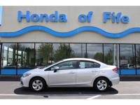 New Arrival! CarFax 1-Owner; LOW MILES; This 2014 Honda
