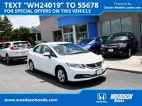 Honda Certified Civic LX, Automatic Transmission and