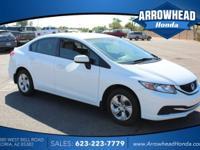 Beige w/Cloth Seat Trim. Gasoline! At Arrowhead Honda,