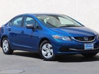 CARFAX 1-Owner, GREAT MILES 33,172! LX trim, Dyno Blue