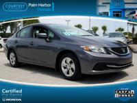 CERTIFIED, CARFAX ONE OWNER, BLUETOOTH, BACKUP CAMERA,