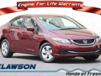 JUST REPRICED FROM $13,750, EPA 39 MPG Hwy/30 MPG