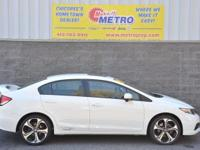 2014 Honda Civic Si  in White. 6 speed manual! The car