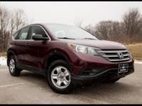 2014 Honda CR-V LX AWD, 2.4L i-VTEC, 16' Steel Wheels,
