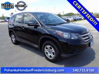 This 2014 CR-V is a one owner vehicle with a clean