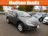 2014 HONDA CRV EX AWD. Rest assured in the comfortable