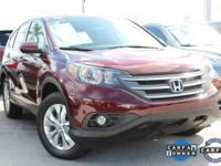 CR-V EX, Honda Certified, and AWD. Superb fuel economy!