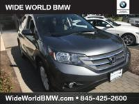 Clean CARFAX. Polished Metal Metallic 2014 Honda CR-V