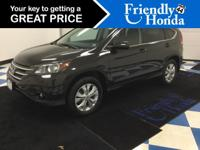 Stop clicking the mouse because this 2014 Honda CR-V EX