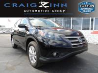 New Arrival! LOW MILES, This 2014 Honda CR-V EX will