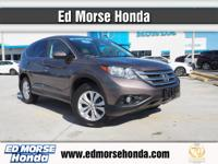 Check out this gently-used 2014 Honda CR-V we recently