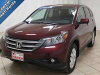 This 2014 Honda is a clean, low mileage vehicle, and it