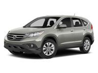 2014 Alabaster Silver Metallic Honda CR-V EX 5-Speed
