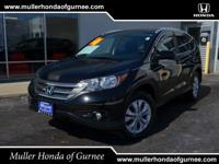 Options:  2014 Honda Cr-V Ex|Black/|V4 2.4 L
