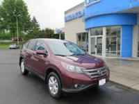 Honda Certified 2014 Honda CR-V EX AWD, Sunroof,
