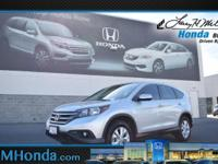 Win a bargain on this 2014 Honda CR-V EX before it's